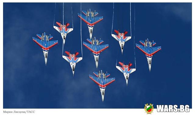 """""""Руските витязи"""" минават на новите Су-35С"""