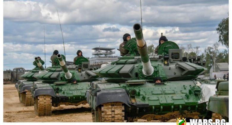 """Все по-неуязвим: тестват новия руски комплекс за активна защита """"Дрозд-2"""" на танкове Т-72БК"""