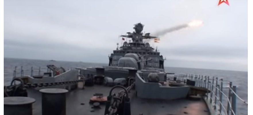 Морска битка: руският флот показа огневата си мощ в пълния ѝ блясък