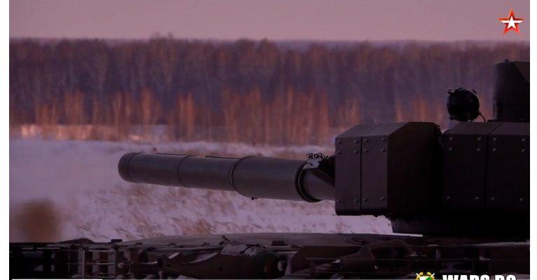ВИДЕО: Вижте как протичат тестовете на модернизирания танк T-80БВМ