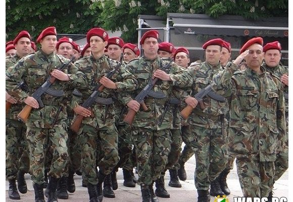 Днес празник имат Сухопътните войски!