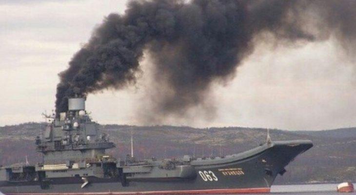 """РБК пресметна колко струва походът на """"Адмирал Кузнецов"""" в Сирия"""