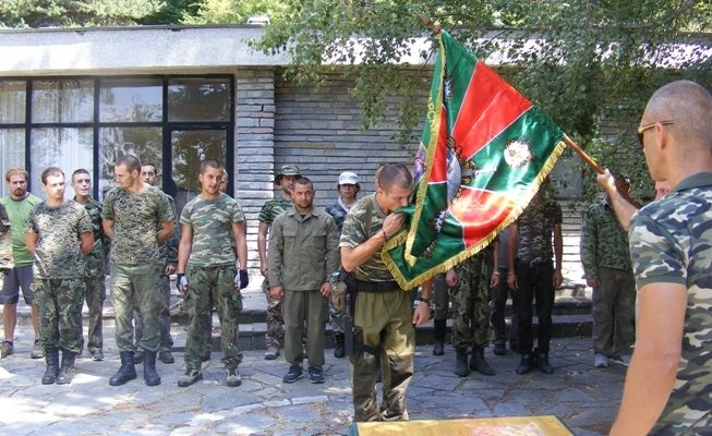 Младите опълченци положиха клетва Стефан Пройнов