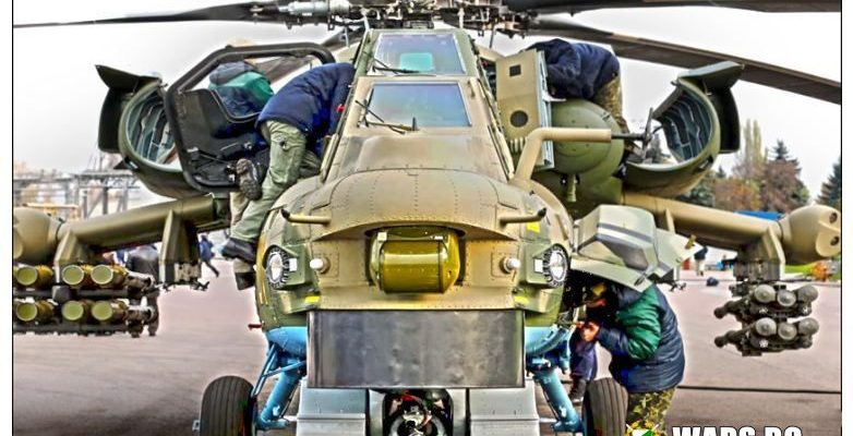 Руската армия получава първата група от дълбоко модернизирани хеликоптери Ми-28НМ
