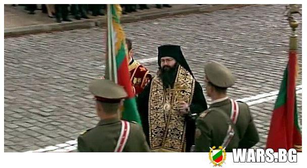 Благословиха бойните знамена
