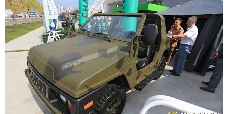 """Новости: руските десантчици на 9 май ще покажат """"стелтна"""" LADA Niva 4x4"""