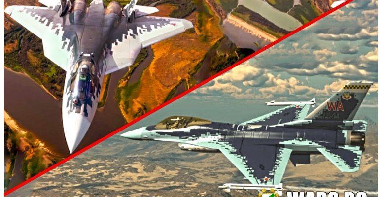 Falcon в цветовете на руски изтребител: американците изкопираха камуфлажната система на Су-57