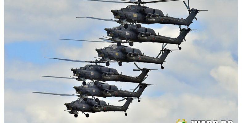 Въоръжават хеликоптерите Ми-28 и Ка-52 с тежки фугасни бомби
