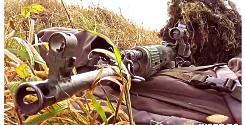 """Специално обучение: руски снайперисти упражняват техники за """"хуманно"""" неутрализиране на врага"""