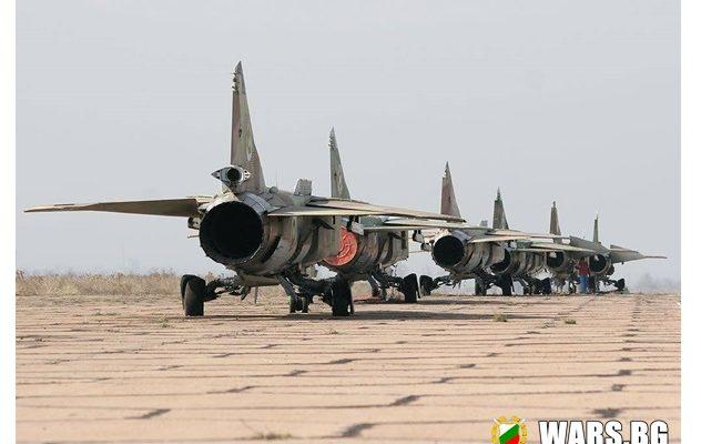 """Те бяха последните """"Миг-23"""" пазили небето на България"""
