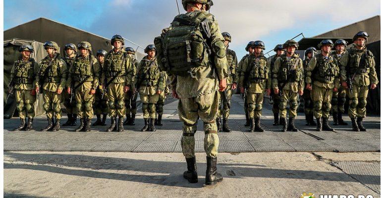 Един обикновен ден на войник в руската армия