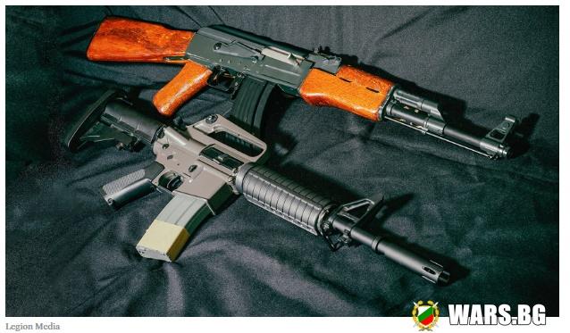 Кой е по-добър – руският АК-47 или американският AR-15?